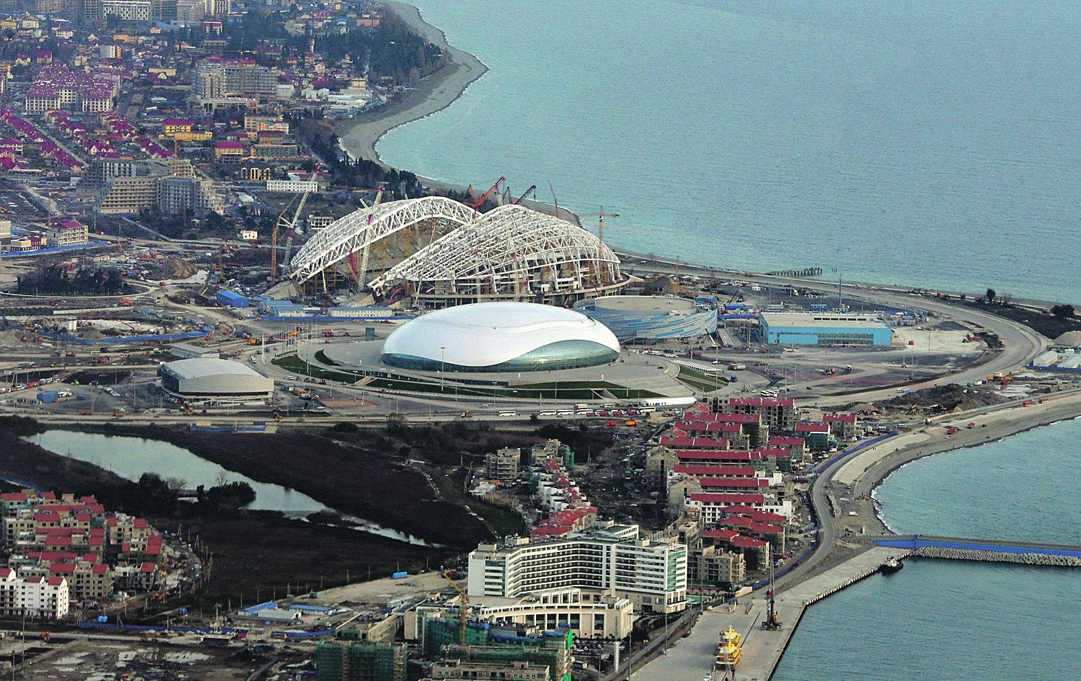 výstavba Olympijský park